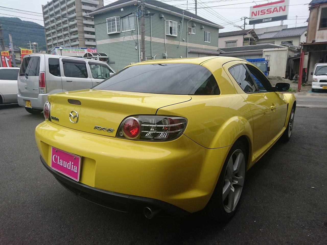 RX-8【レンタカー】