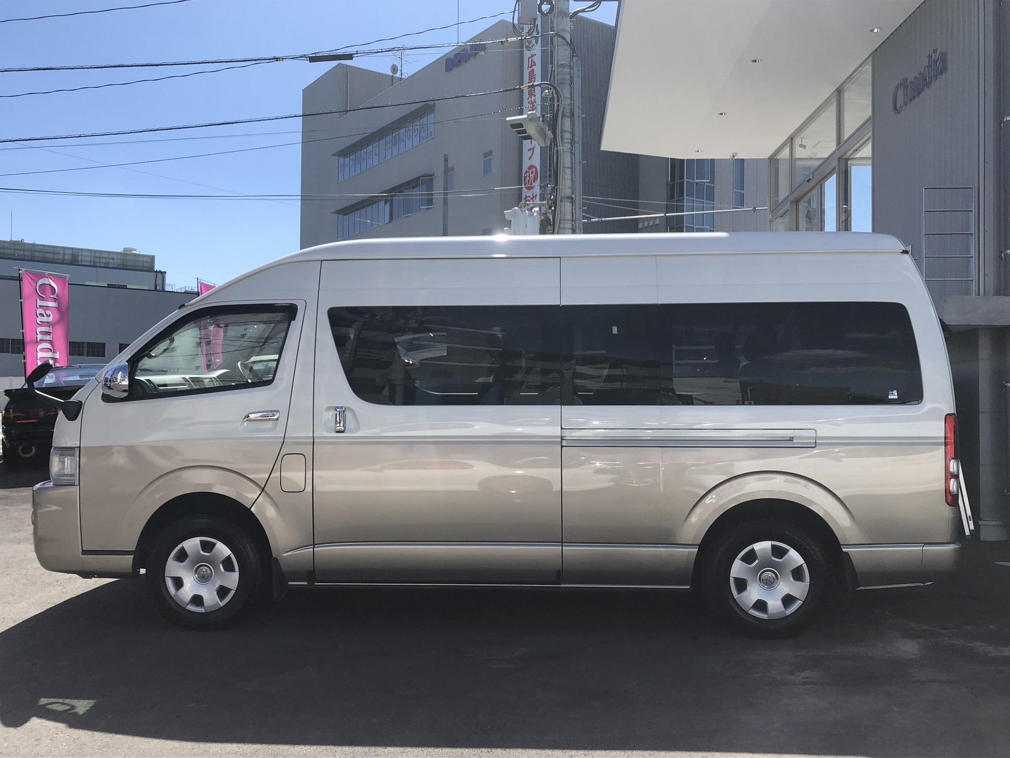 ハイエースワゴン【レンタカー】
